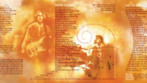 """A Million Suns: vol. 1"" inside cover"
